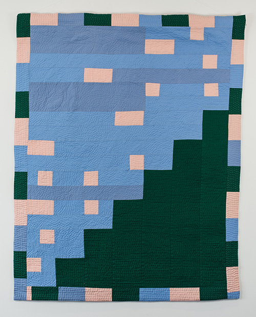 Louise Donovan - Quilts - Waving Not Drowning!